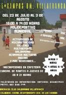 5º Campus Balonmano Villafranca.