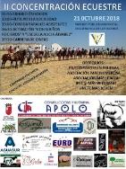 El próximo 21 de octubre se va a celebrar en el Parque Público de Villafranca de los Barros, la II Concentración Ecuestre.