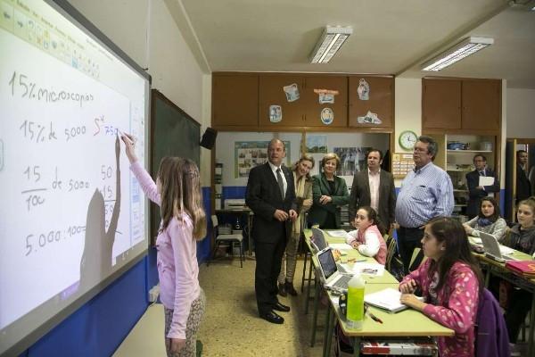 El presidente Monago presenta las infraestructuras educativas que se van a realizar en Don Benito por importe de 7,4 millones de euros