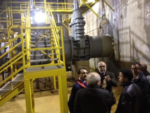 Echávarri visita obras de reparación en la zona regable de Valdecañas y destaca los 60 millones de euros invertidos en mejorar regadíos
