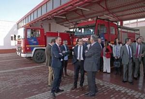 Con la nueva reforma, el Parque de Bomberos de Villafranca gana en eficacia y seguridad