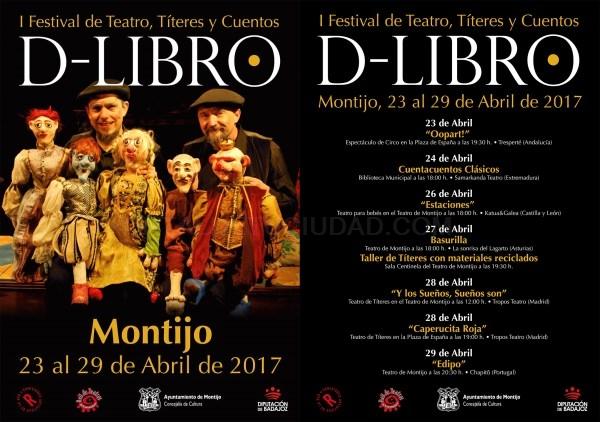 Montijo estrena festival con teatro, títeres y cuentos.
