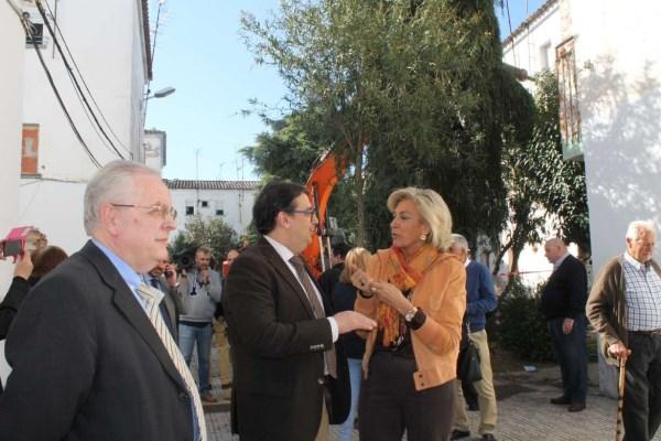 La Junta de Extremadura y el Ministerio de Fomento colaboran para regenerar el barrio San José de Almendralejo.