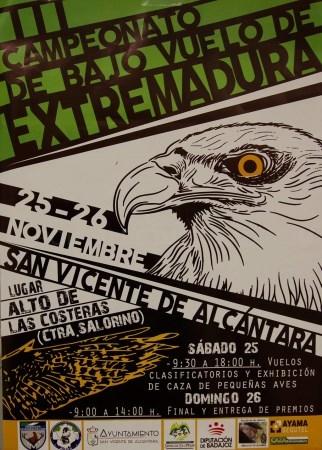 San Vicente acoge este fin de semana el III Campeonato de Bajo Vuelo de Extremadura.