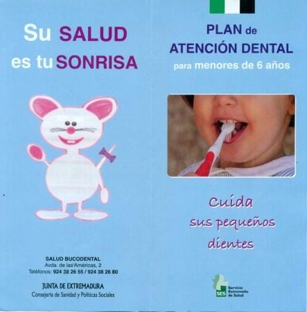 El SES ofrece ya asistencia en salud bucodental de manera gratuita para todos los menores desde el primer año de vida hasta los quince años