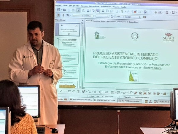 """El hospital Don Benito Villanueva de la Serena ha celebrado esta semana las """"I Jornadas de Metodología Enfermera y entorno Jara""""-"""