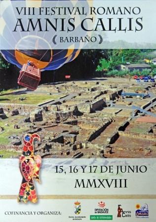 """VIII Festival Romano """"Amnis Callis"""" de Barbaño se celebrará del 15 al 17 de junio"""