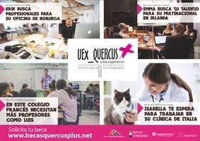 La UEx abre la nueva convocatoria del programa de prácticas en empresas europeas UEx_QUERCUS+.