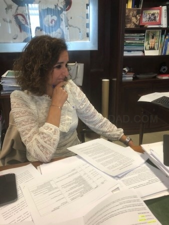 Olga García pone de manifiesto en Europa el valor de las renovables en la reconstrucción de la economía