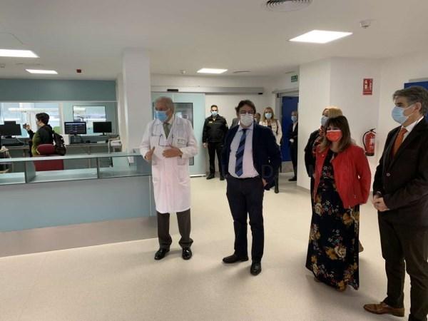 La nueva Unidad de Cuidados Críticos permitirá incrementar la capacidad quirúrgica del Hospital Campo Arañuelo