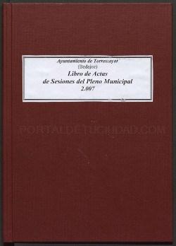 Ampliación de las actas digitalizadas de Torremayor