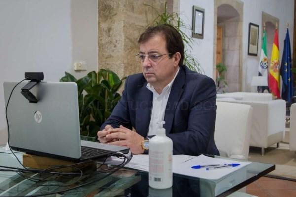 Fernández Vara aboga en la asamblea de REDEX por aprovechar de manera eficiente los fondos europeos para dejar una Europa, una España y una Extremadur