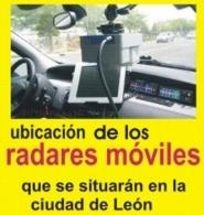 UBICACIóN DE LOS RADARES MóVILES