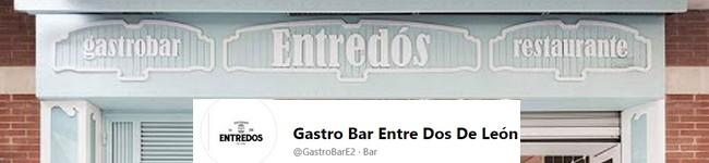 ENTREDOS Gastrobar -LEÓN-