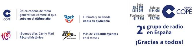 Grupo COPE Segundo grupo de radio en España