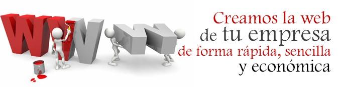 Creamos la web de tu empresa ¡¡ infórmate !!
