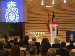 La delegada del Gobierno en Castilla y León preside en Valladolid el acto institucional del 193 aniversario de la fundación de la Policía Nacional