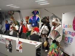 El antruejo tradicional se convierte en el elemento diferenciador del programa de Carnaval de León 2017
