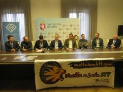 Hoy se ha presentado la vuelta a León BTT que constará de tres etapas que recorrerán la geografía leonesa