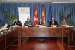 La delegada del Gobierno preside el Consejo Autonómico de Seguridad Ciudadana de Castilla y León