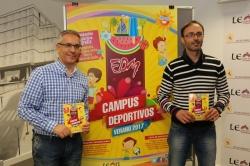 Los 24 campus de verano de las Escuelas Deportivas Municipales ofertan 2.700 plazas para niños de 4 a 16 años