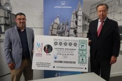 Diez millones de décimos del sorteo de Lotería Nacional que se celebra el sábado en la Plaza de San Isidoro difunden 'León Manjar de Reyes'