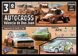 El tercer autocross Valencia de Don Juan este sábado en Los Cucharales