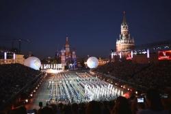 España vuelve a ser protagonista de la mayor fiesta de música militar en la Plaza Roja de Moscú