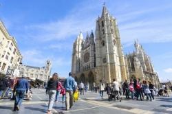 León cierra el Puente del Pilar con un lleno casi total en los establecimientos hoteleros