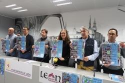 La VIII Cross Ciudad de León, en el parque  Monte San Isidro, abre el domingo la VIII Liga Leonesa de Cross Popular