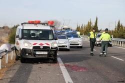 Fallece un trabajador de mantenimiento de la A-231 al ser atropellado por un camión a la altura de El Burgo Ranero