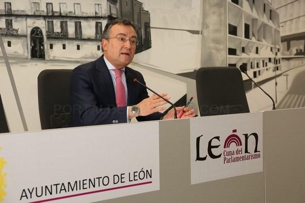 PORTAVOZ DEL AYUNTAMIENTO DE LEóN, FERNANDO SALGUERO