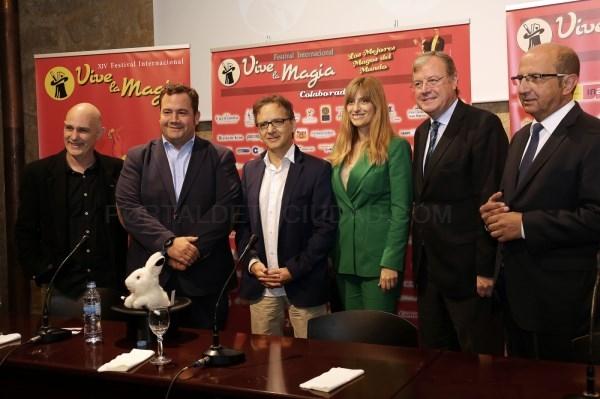PRESENTACIóN DEL FESTIVAL DE LA MAGIA QUE TENDRá LUGAR EN DICIEMBRE EN LEóN / LEON PTC