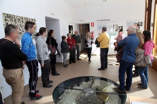 """UPL pide al Ayuntamiento que retome las visitas guiadas al León Romano """"de modo inmediato"""" y durante todo el año"""