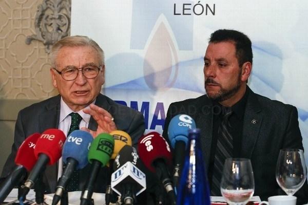 CARLOS S. CAMPILLO /ICAL - DESAYUNO INFORMATIVO DE LA HERMANDAD DE DONANTES DE SANGRE DE LEóN