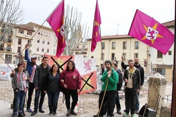La lectura de un manifiesto reivindicativo centra las celebraciones del 'Día de la Resistencia Llionesa'