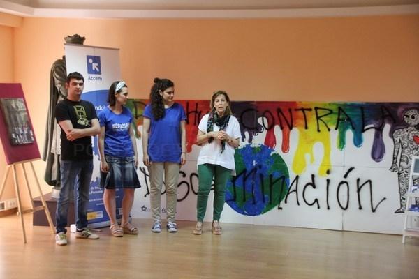Accem presentó en Valencia de Don Juan sus programas de integración y asistencia a la discriminación racial o étnica