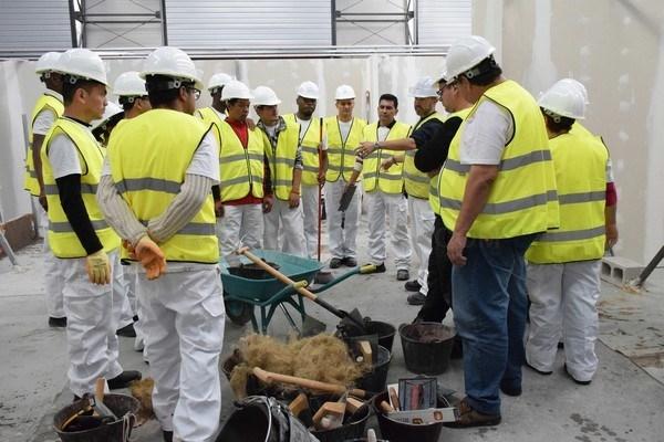 CERCA DE 3.000 TRABAJADORES DEL SECTOR SE FORMARON EN 2017 CON LA FUNDACIóN LABORAL DE LA CONSTRUCCIóN DE CASTILLA Y LEóN