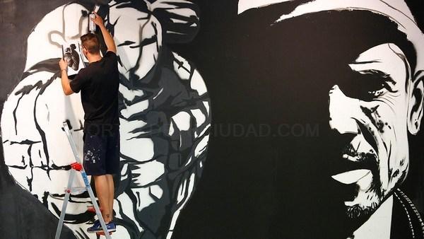CARLOS S. CAMPILLO /ICAL - PREPARATIVOS DE LA EXPOSICIóN 'DEL CARBóN AL GRAFITI' EN SABERO