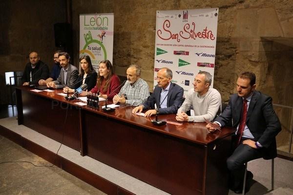 PRESENTACIóN XXII SAN SILVESTRE 'LEóN CAPITAL ESPAñOLA DE LA GASTRONOMíA'