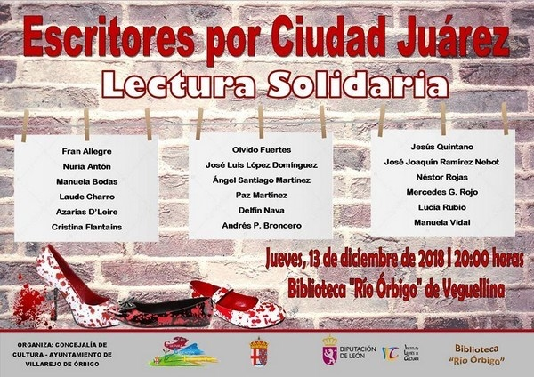 Villarejo celebra el Día Internacional de los Derechos Humanos con la lectura solidaria 'Escritores por Ciudad Juárez'