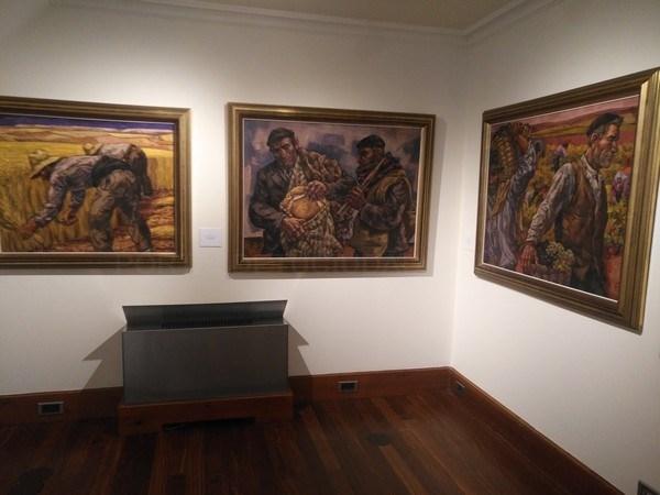 Foto JFFS / El Museo Gaudí Casa Botines de León inaugura seis nuevas salas para completar la pinacoteca con 163 obras de arte
