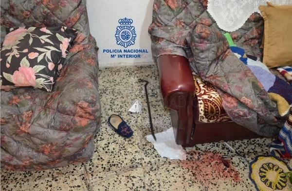 Dos detenidos en León por robo con violencia violencia a una anciana, en el barrio de la Asunción de León