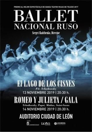 El Ballet Nacional Ruso de Sergei Radchenko regresa al Auditorio Ciudad León los días 13 y 14 de noviembre