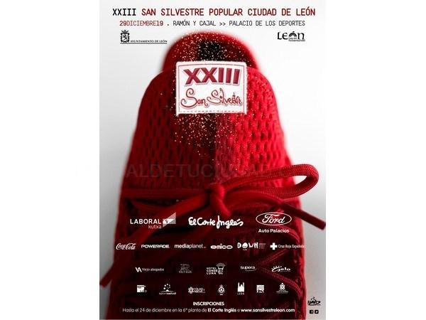 La ciudad de León acoge una nueva edición de la carrera popular San Silvestre el día 29 de diciembre