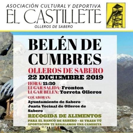 """""""El Castillete"""" programa un """"belén de cumbres solidario"""""""