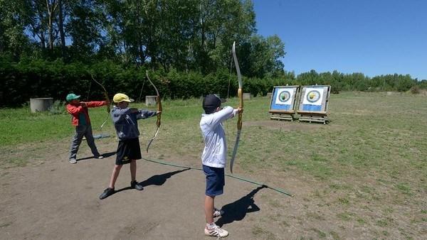 Más de 500 niños y niñas participaron en los campamentos estivales del Coto Escolar de León