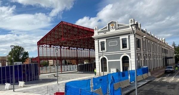La antigua estación de ferrocarril de León es la sede propuesta para acoger el Centro Europeo de Ciberseguridad
