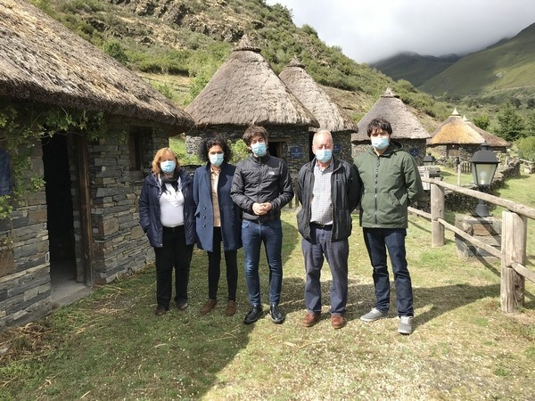 La Diputación de León mejora el castro de Chano, uno de los más singulares del Noroeste