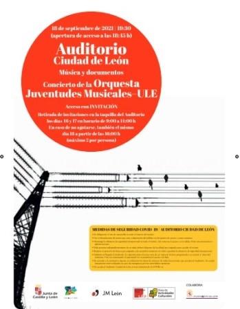 El Archivo Histórico Provincial de León da a conocer su fondo documental de música con un concierto de la Orquesta Juventudes Musicales-ULE este sábad